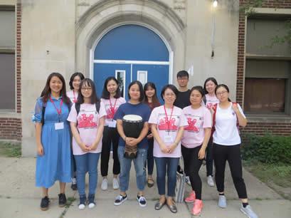 CIMSU program members group photo