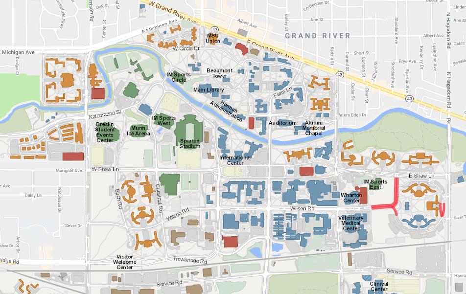 MSU map mage