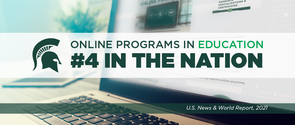 Online Programs in Education #4. in the Nation