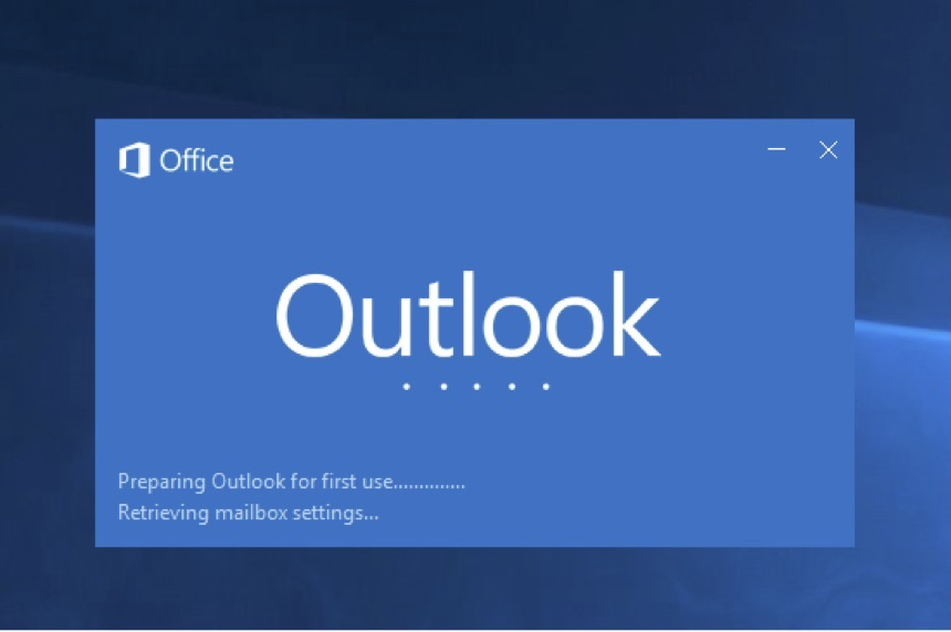 outlook startup