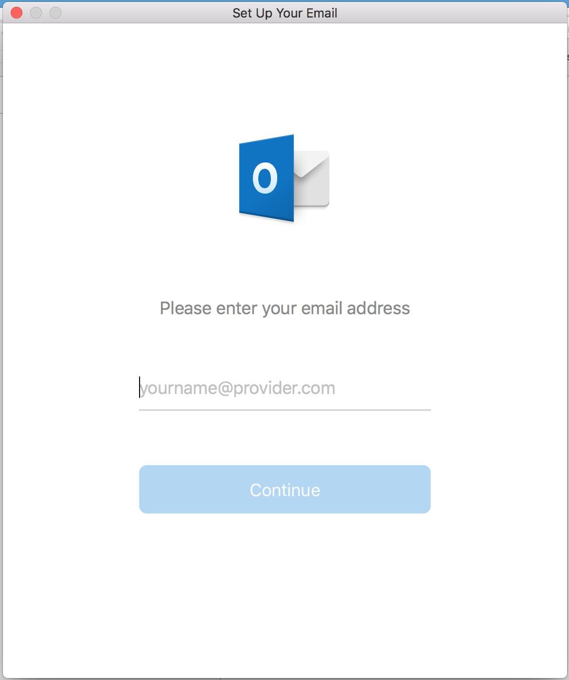 Add account screenshot