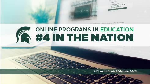 MSU Ranked #4 in Online Programs